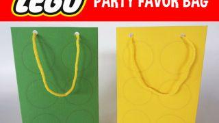 DIY Lego Party Bags