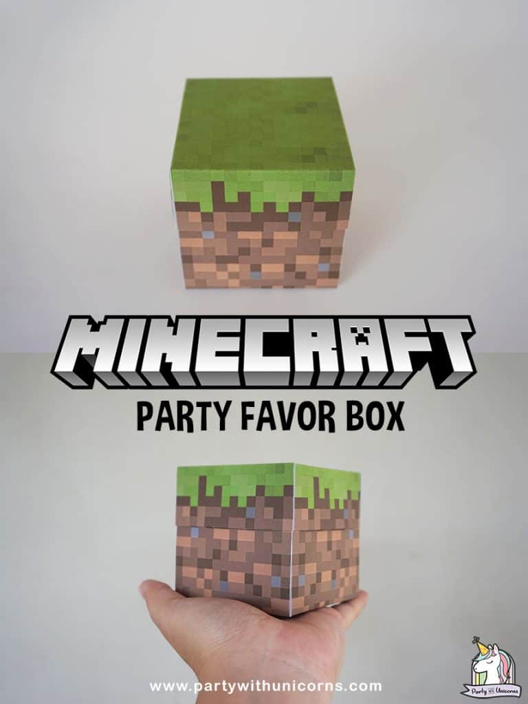 Minecraft Favor Box
