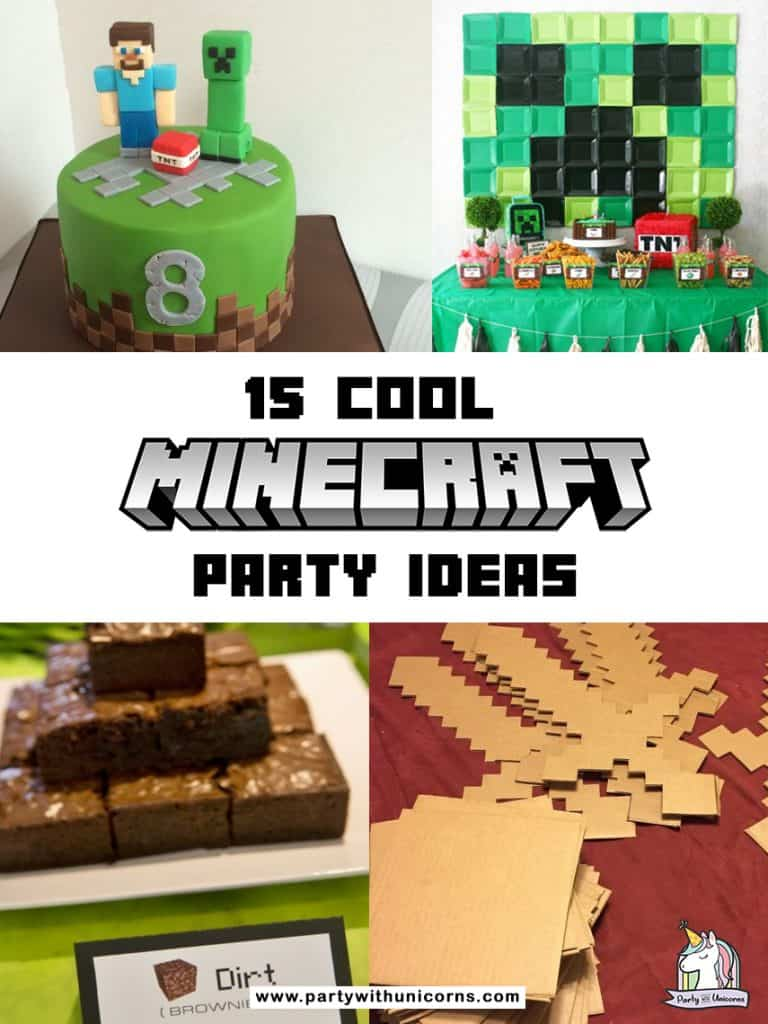 Are you planning a Minecraft Party? Check out this list of fun Minecraft party ideas to find inspiration for your event. From free Minecraft party printables. Minecraft invitations, Minecraft cakes and more . We have everything you need to put on a super fun Minecraft party.