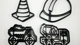 Construction Custom Cookie Cutter Set