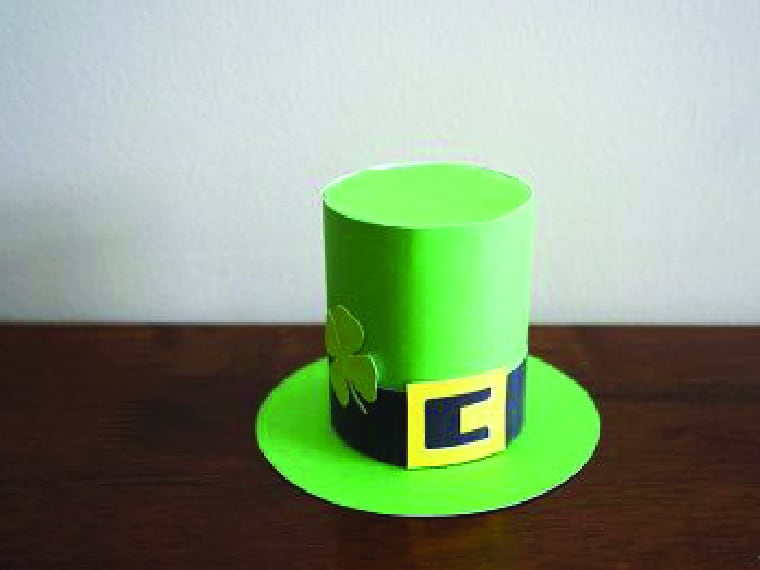 St Patrck's Day Hat Craft