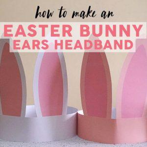 easter Bunny Ears Headband
