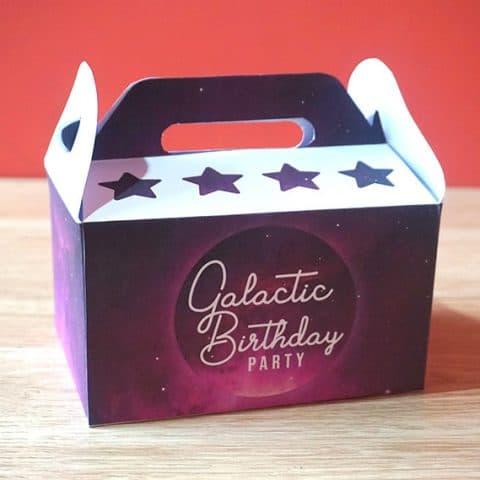 DIY Galaxy Party Favor Box