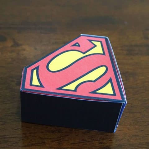 Superman Favor Box