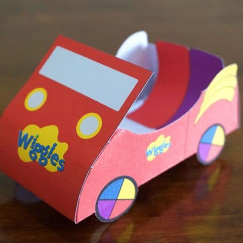 Wiggles Big Red Car Party Favor