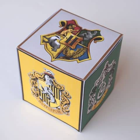 Harry Potter Favor Box