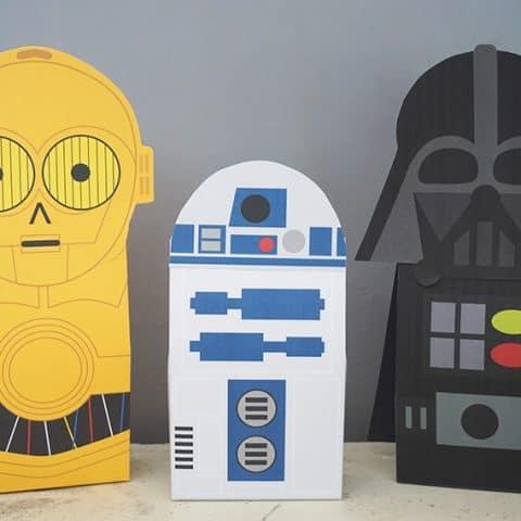 Star Wars Favor Bag