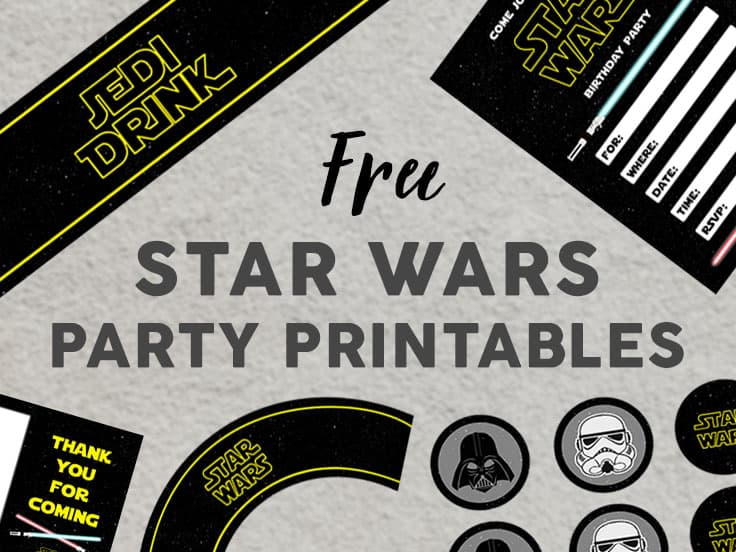 Star Wars Party Printables