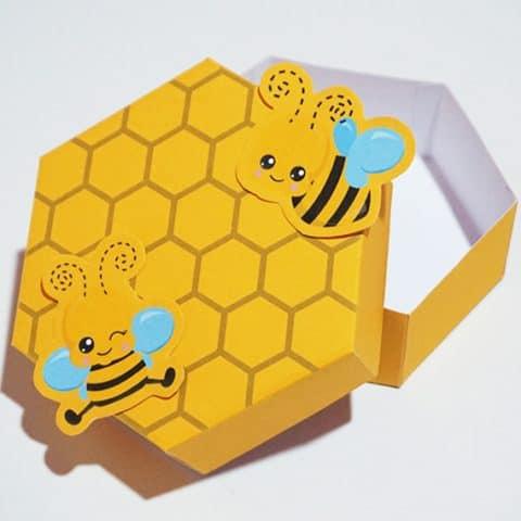 DIY Beehive Favor Box