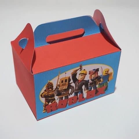 Roblox Party Favor Box