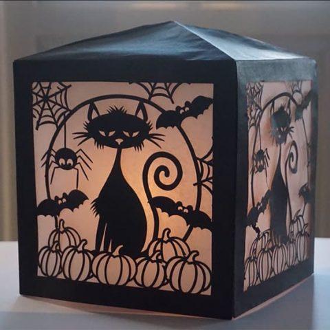 DIY Halloween Paper Lantern