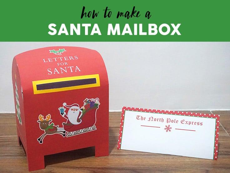Printable Santa Mailbox