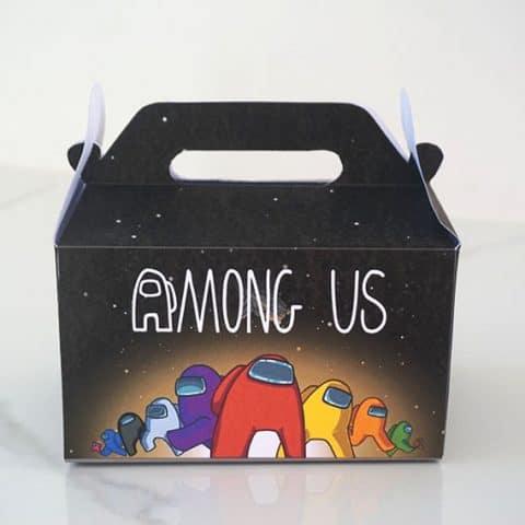 DIY Among Us Party Favor Box