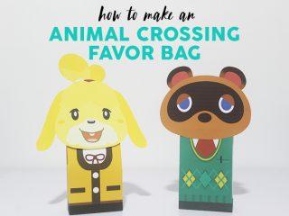 Animal Crossing Favor Bag image