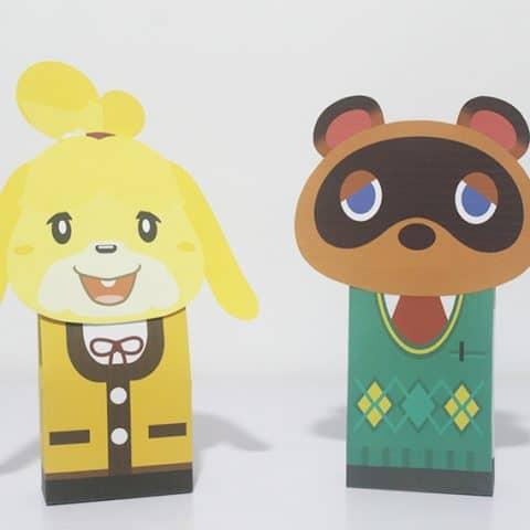 Animal Crossing Favor Bag