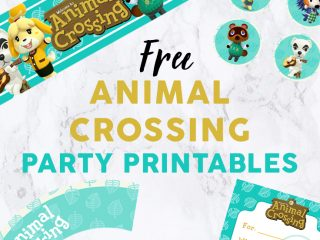 Animal Crossing Party Featured Image - Party Printables image