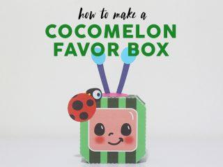 Cocomelon Favor Box image