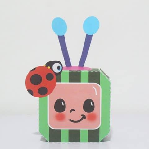Cocomelon Favor Box