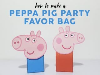 Peppa Pig Favor Bag image