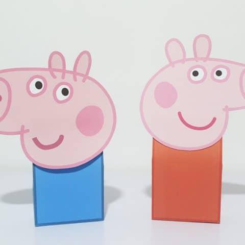 Peppa Pig Party Favor Bag