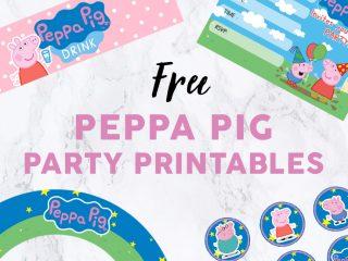 Peppa Pig Party Printables image