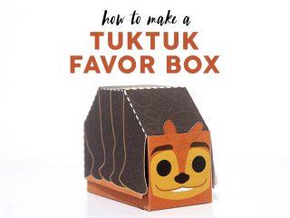 Tuk Tuk Favor Box image