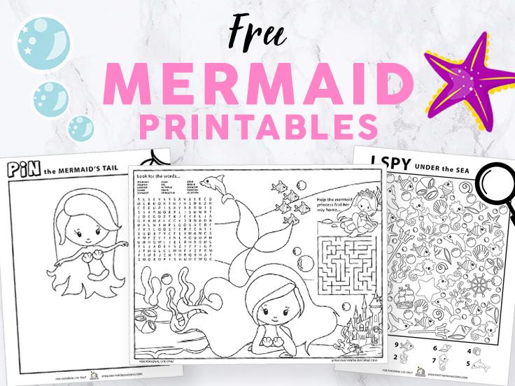 Mermaid Printables images