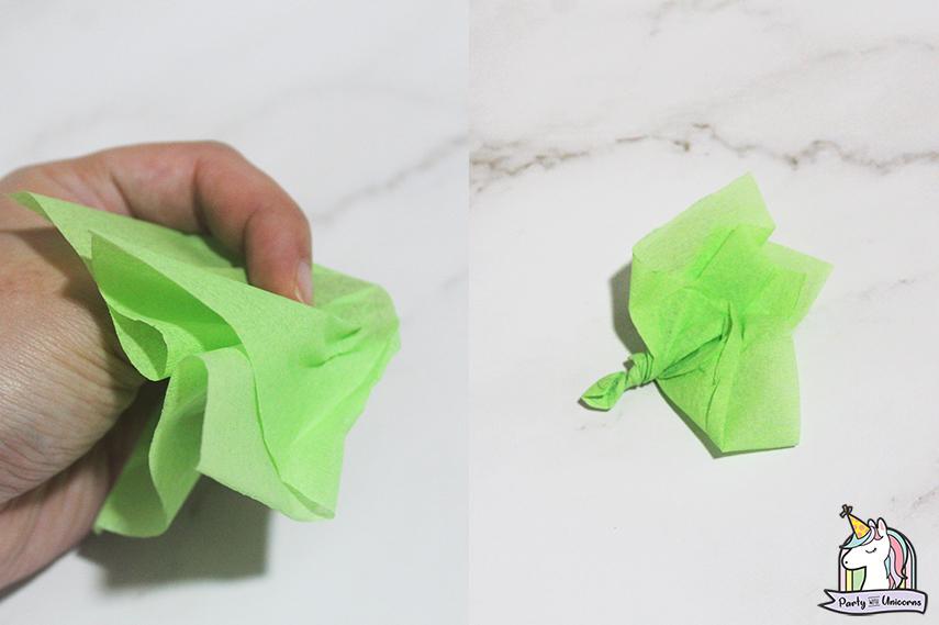 Moana Floral Number Craft Favor Box Step 4 images