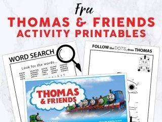 Thomas & Friends Activity Printables image