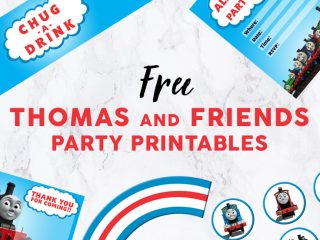 Thomas and Friends Party Printables image