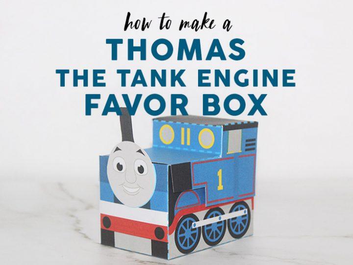 Thomas the Tank Engine Favor Box images