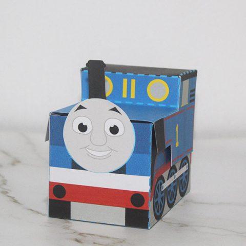 Thomas the Tank Engine Favor Box Step 7 image