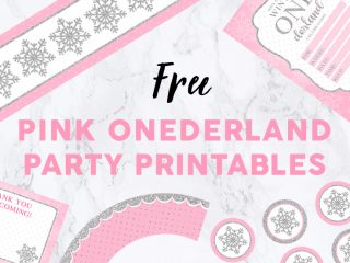 Onederland Party Printables