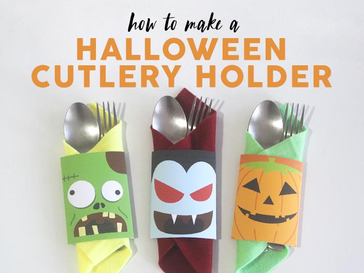 Halloween Cultery Holders