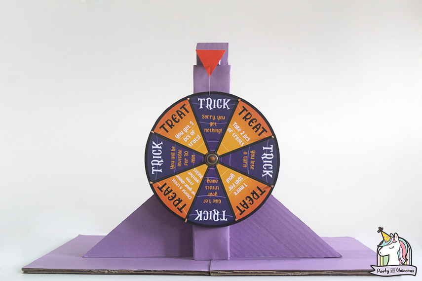 Halloween Trick or Treat Wheel